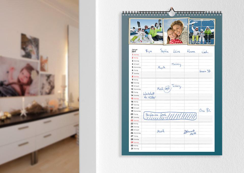 Fotokalender mit Ihren Fotos online gestalten | ifolor
