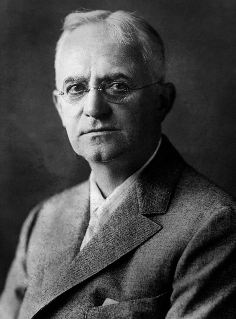Portrait of George Eastman, the founder of the Eastman Kodak Company