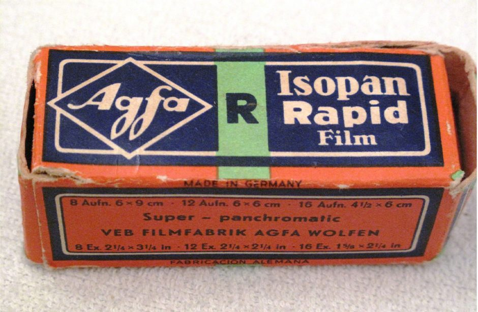 Colour film from the Agfa Wolfen film factor
