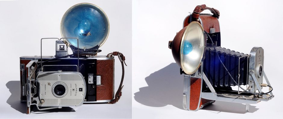 "The so-called ""Land Camera"" that was used to demonstrate Polaroid film in 1947"