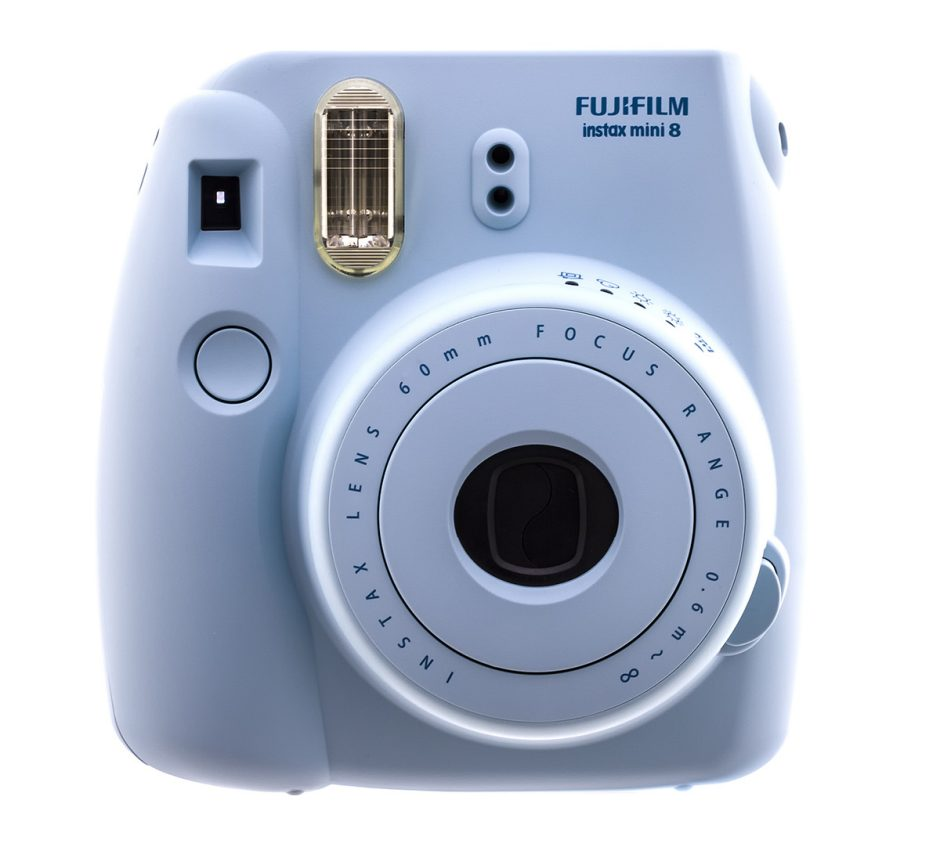An instant camera from Fuji from their Instax Mini line