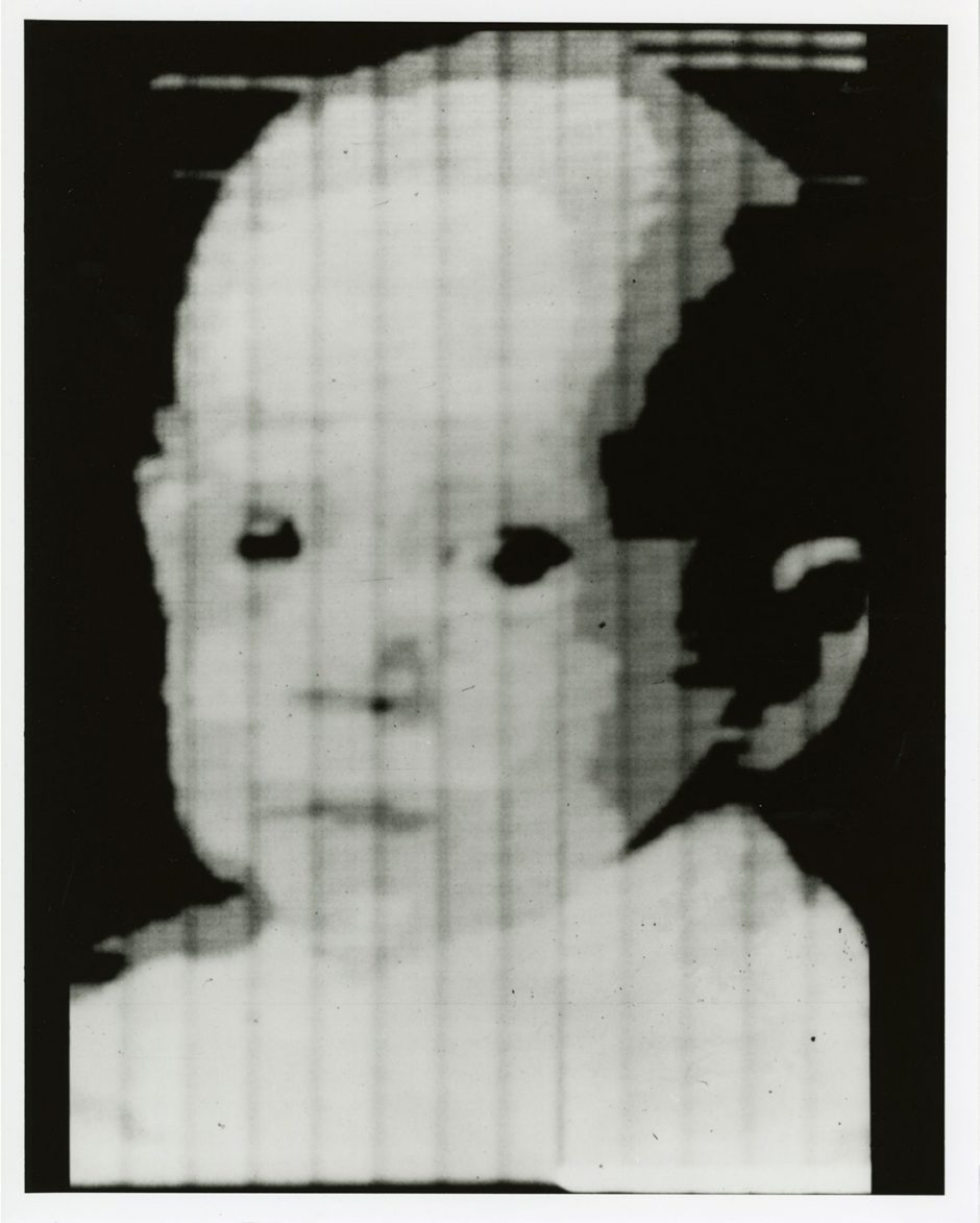 The first scanned photo shows Walden, son of Russel Kirsch