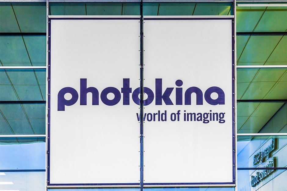 The logo of Photokina, the most important photography expo in the world