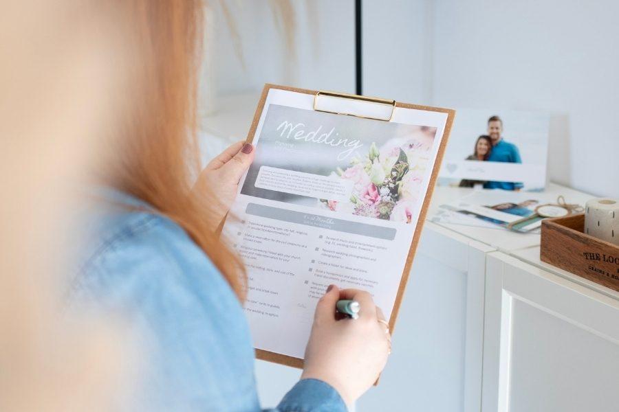 Checkliste Tipps Fur Die Planung Ihrer Traumhochzeit Ifolor
