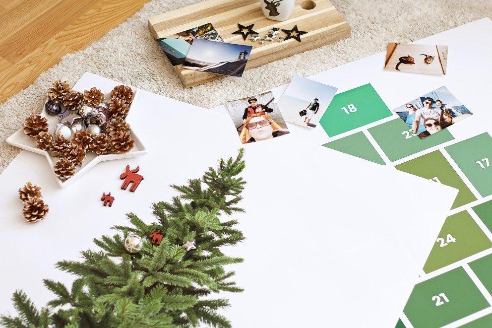 ein foto poster weihnachtsbaum als kreative alternative ifolor. Black Bedroom Furniture Sets. Home Design Ideas