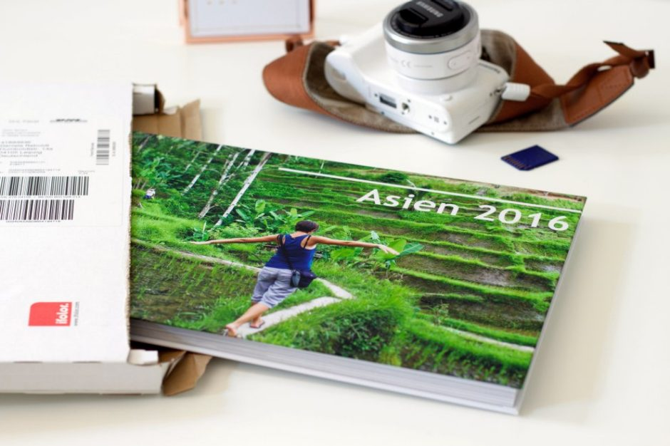 A travel yearbook as a photo book