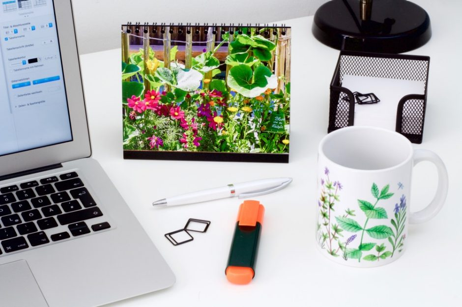 You can use photo products to personalise your desk and work area and always have your fondest memories close