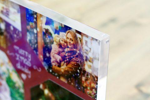 fotoblock aus acryl als weihnachtlicher wechselbilderrahmen ifolor. Black Bedroom Furniture Sets. Home Design Ideas