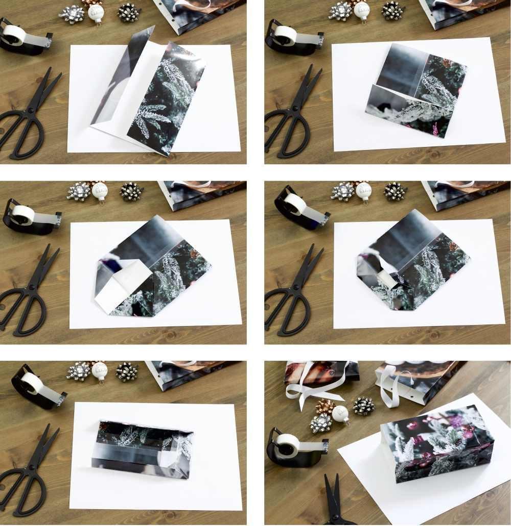falten sie kreative geschenkt ten aus ihren eigenen fotos ifolor. Black Bedroom Furniture Sets. Home Design Ideas