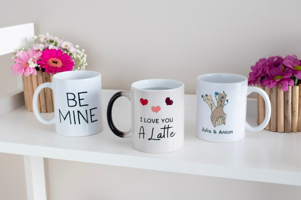 A Handwritten Love Note On A Mug Ifolor