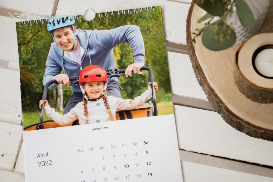 Look back on the year with a photo calendar