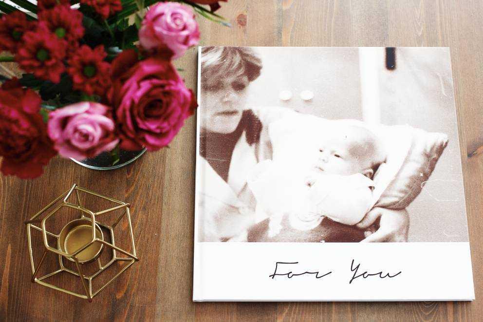 Lalbum Fotografico Per La Festa Della Mamma Un Grazie