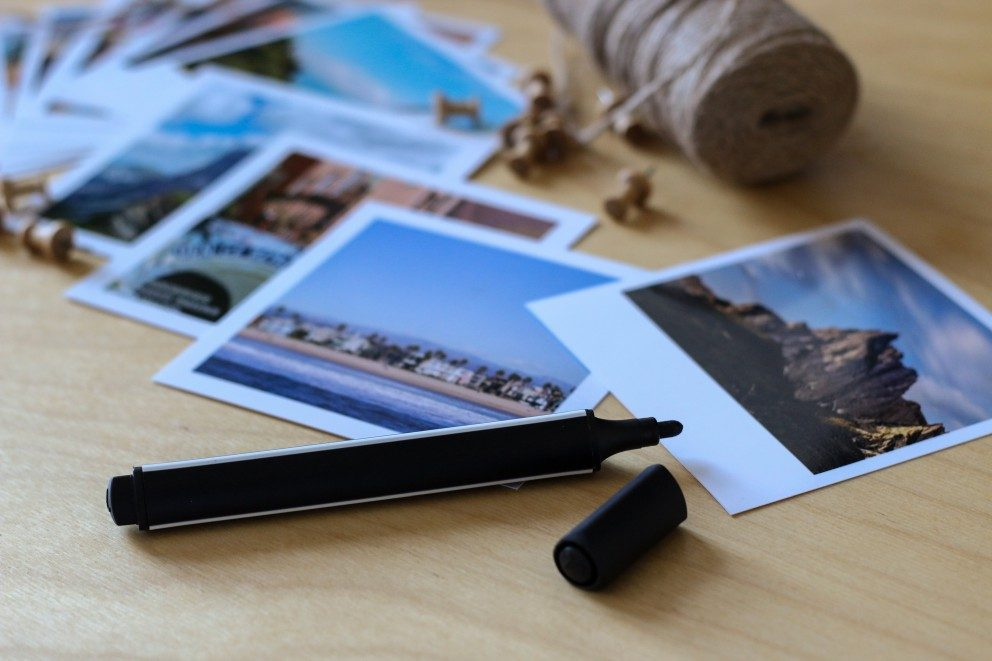 Bastelanleitung weltkarte mit square und retro prints - Weltkarte basteln ...