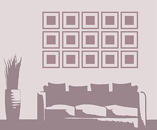 bilder aufh ngen tipps f r sch ne wanddekoration ifolor. Black Bedroom Furniture Sets. Home Design Ideas