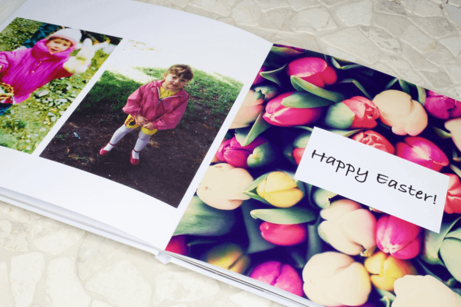 A photo book for their 18th birthday - not every photo has to be picture-perfect