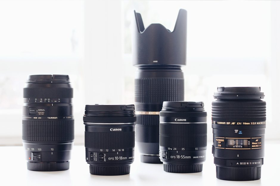 A variety of lenses offer a variety of possibilities. There is an especially suitable lens for every picture.