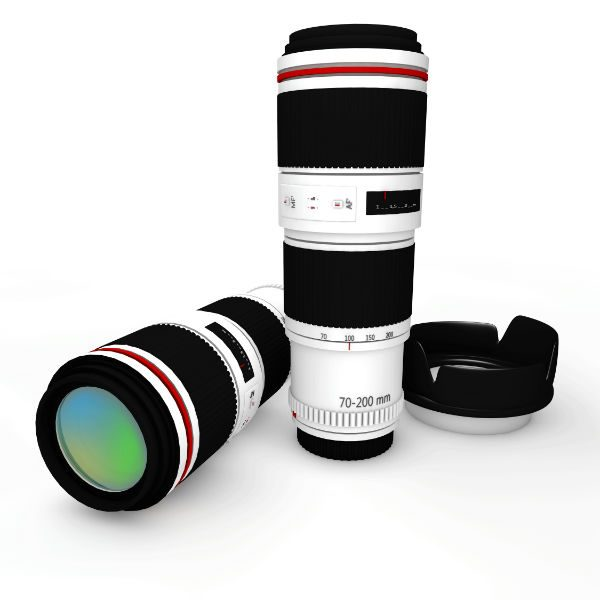 A telephoto lens is large and heavy, but it does allow objects that are very far away to be enlarged to the maximum extent possible.