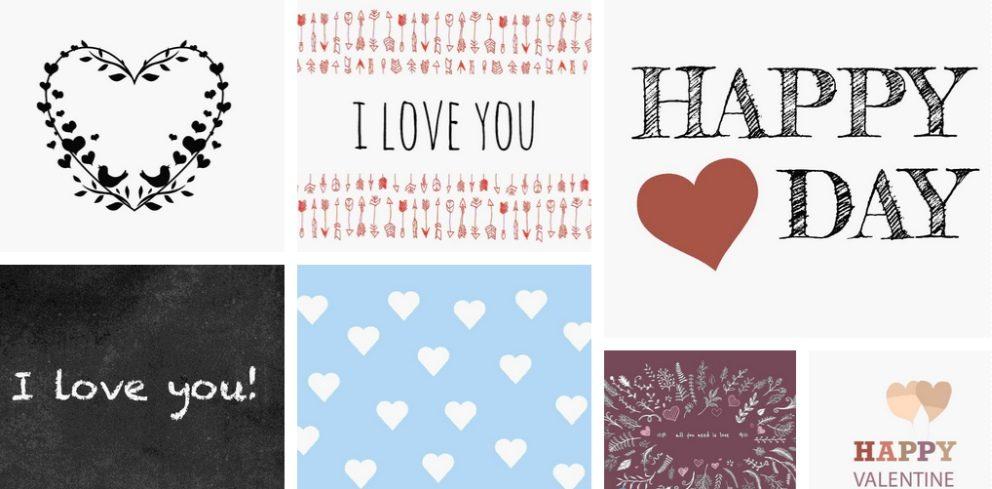 Grusskarten Zum Valentinstag Als Fotocollage Ifolor
