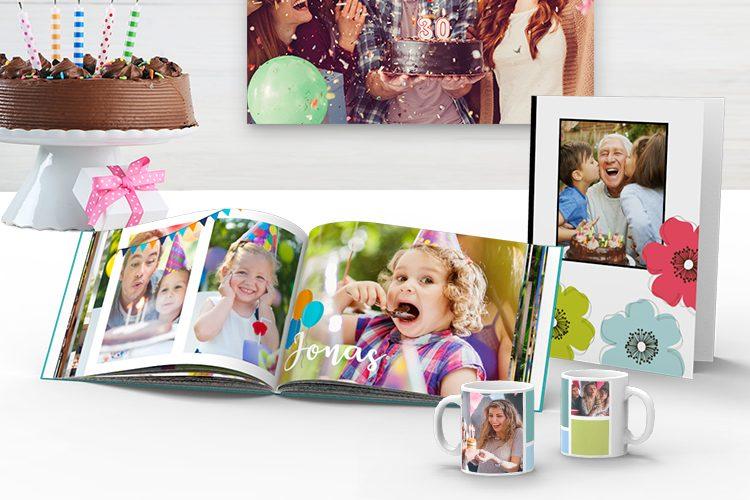 Prodotti Fotografici Per Festeggiare Il Compleanno Ifolor