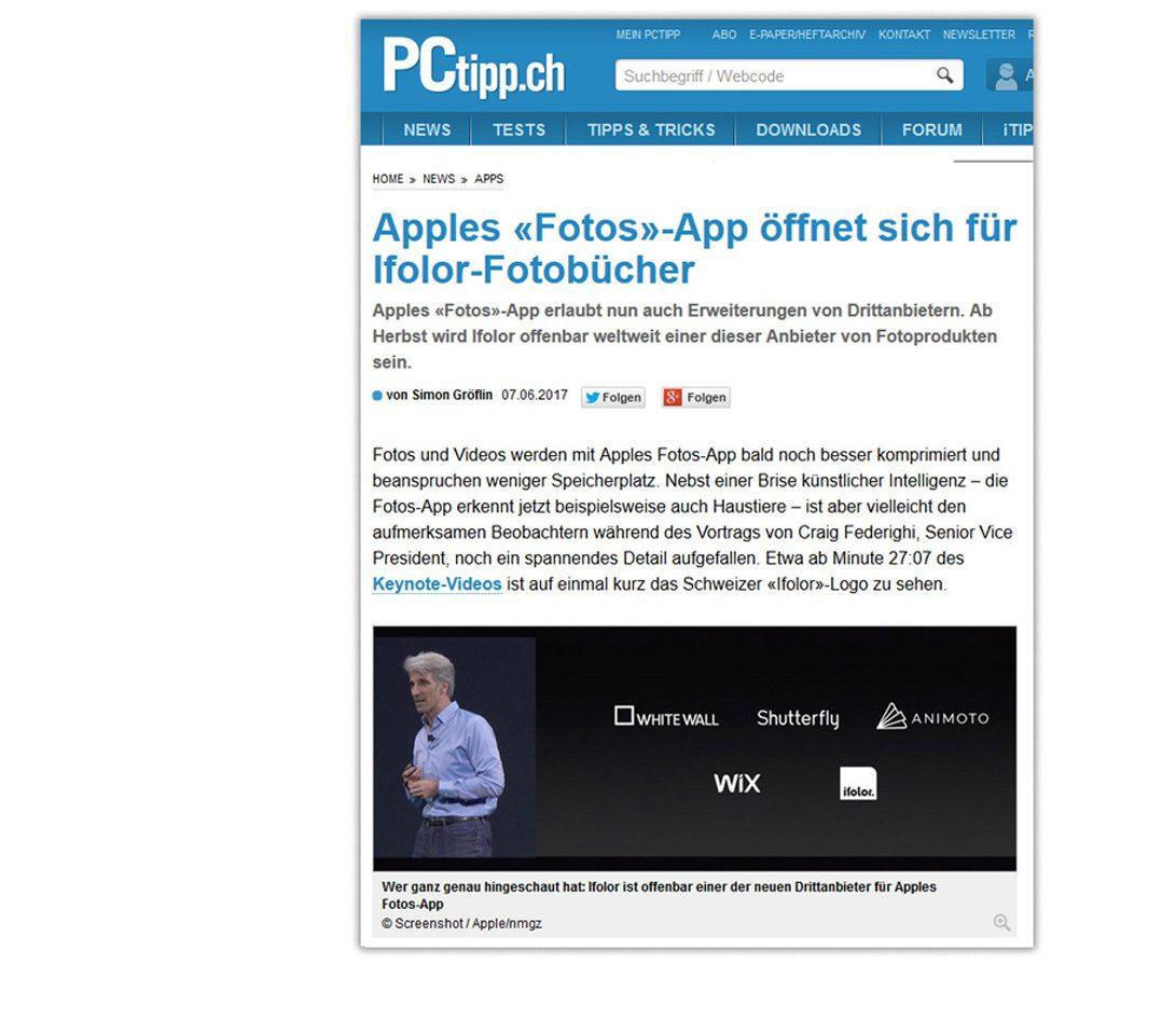 Neues macOS High Sierra – ifolor als Drittanbieter in Fotos | ifolor