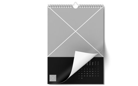 Wall calendar in A4-Portrait format | Ifolor