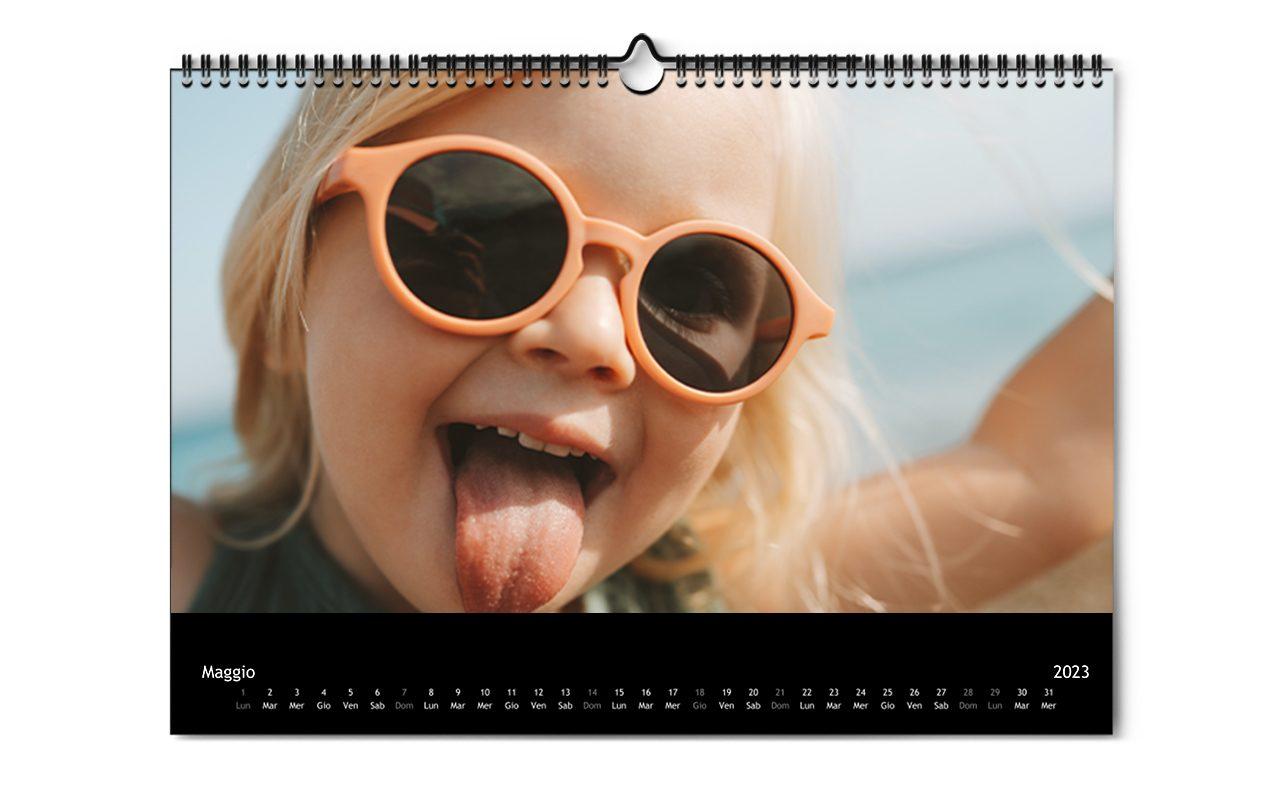 Calendario da parete con le tue foto ifolor - Calendario da tavolo con foto proprie ...
