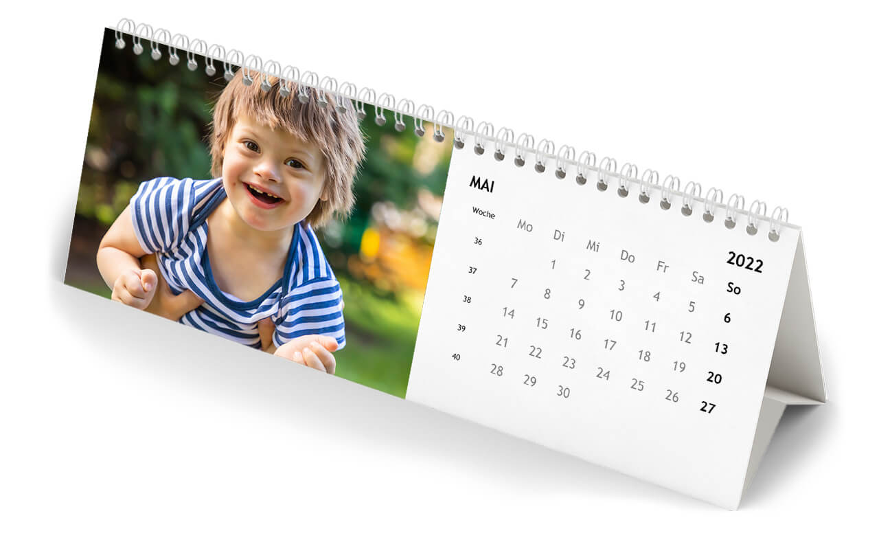 Perfect for the office: the Desk Calendar