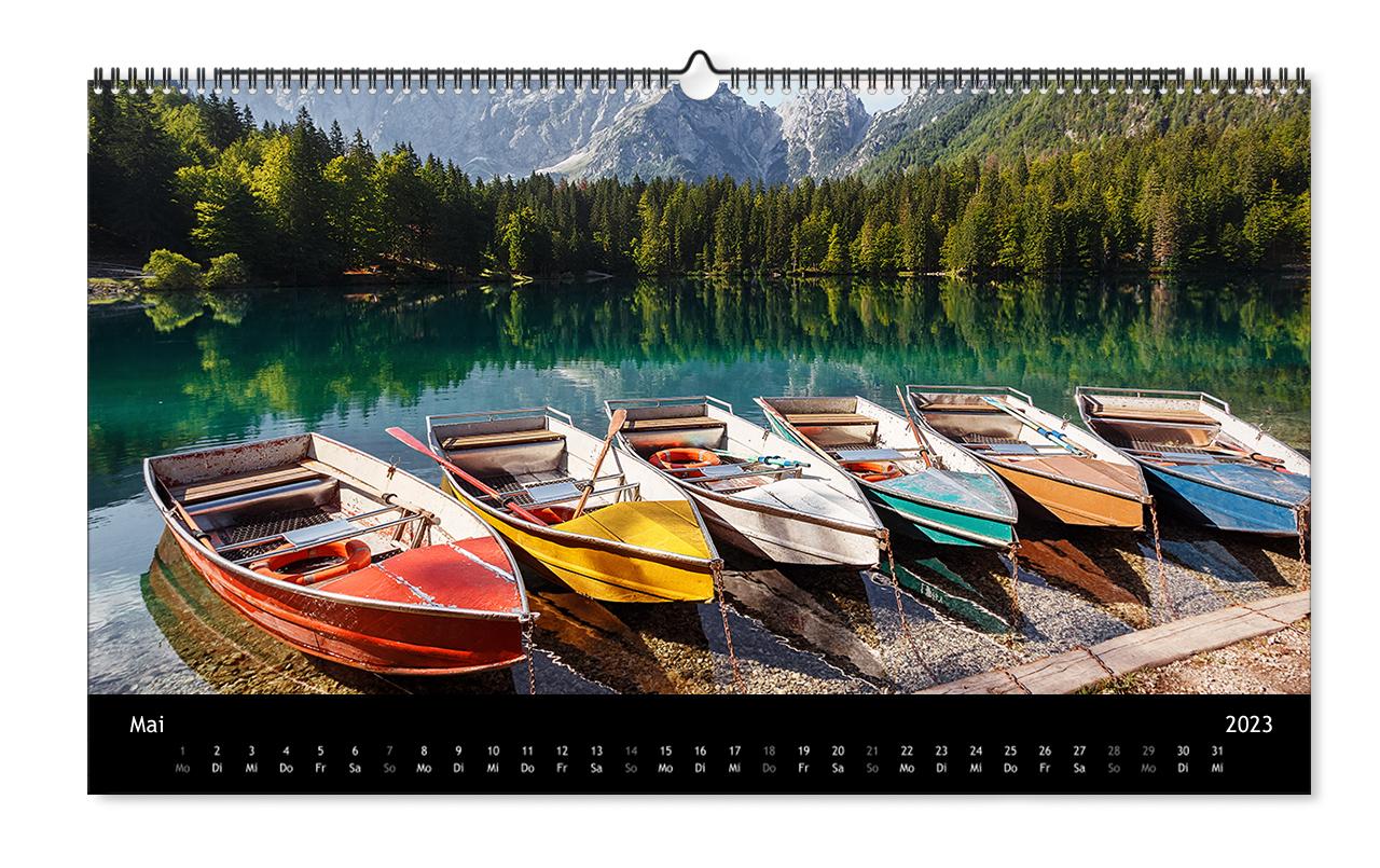 Panorama Calendario.Calendari Fotografici Foto Per Sempre Ifolor