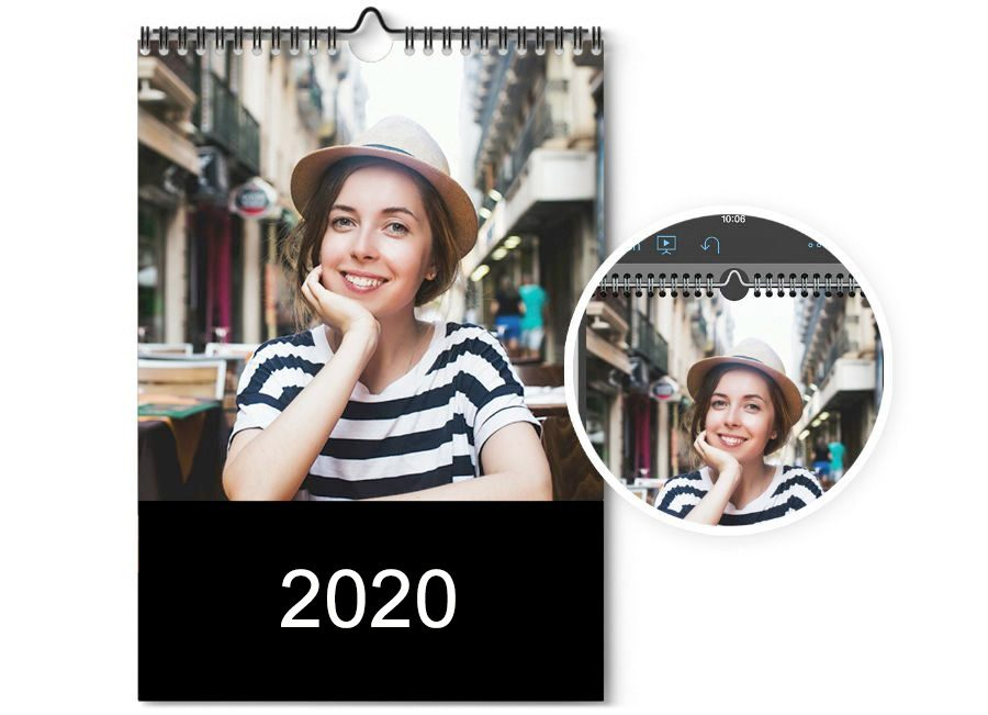 Create photo calendars by app