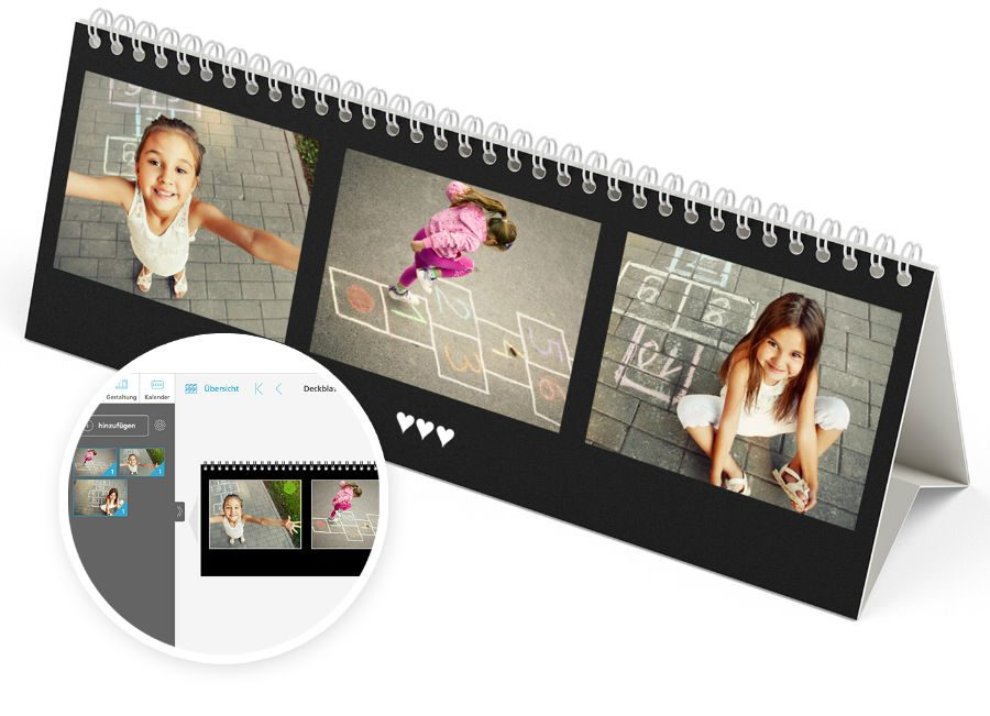 Create photo calendars online